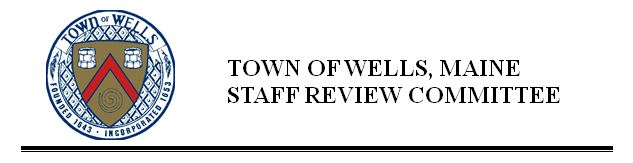 Staff Review Committee header