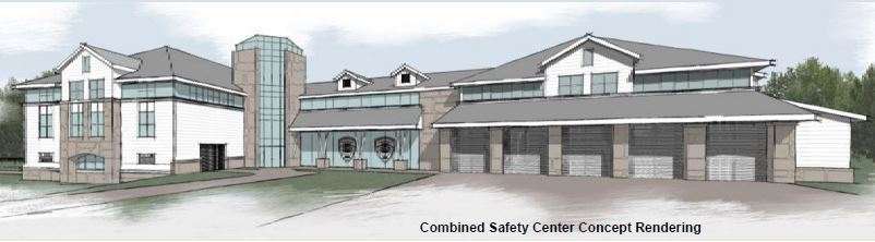 proposed public safety building street view