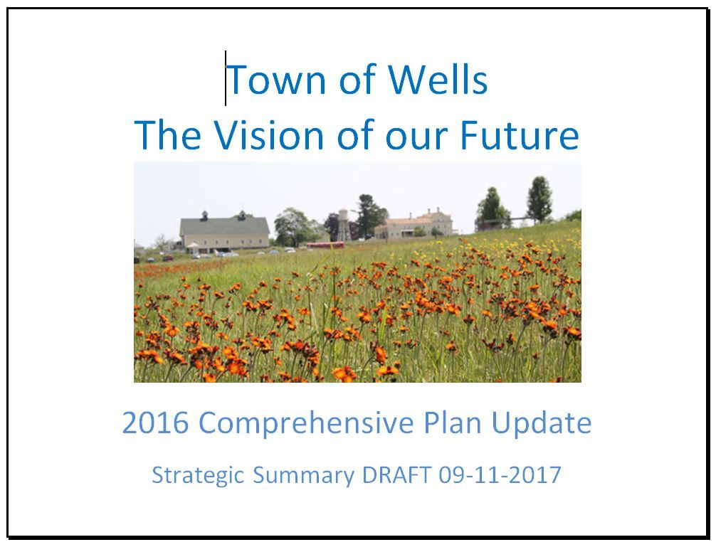 2016 Comp Plan Update Cover