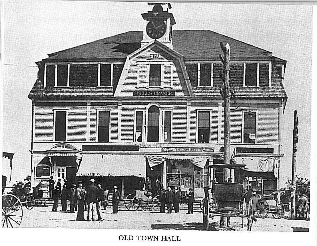 Wells Town Hall Photo 1906
